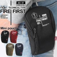 ●立体型ポケット  スマホなど普段身に着ける小物アイテムの収納にぴったりのミニポーチ。  IQOSや...