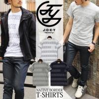 JOEY ジョーイファクトリー ネイティブ柄 ボーダーTシャツ 21200の登場です。   ●JOE...