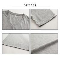 メンズ Vネック Tシャツ 半袖 1803m50