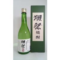 純米大吟醸の酒粕から作られた希少な米焼酎。 蔵元 旭酒造 アルコール度数 39度