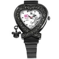 DISNEY ディズニー 大人気 ウォッチコレクション ミッキーのハート型腕時計 シリアルナンバー入...