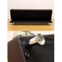 ソファベッド 簡易ベッド セミダブル レザーシート コンパクト OPERA ブラック|rakusouya|04
