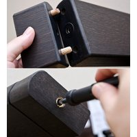 こたつ 炬燵 コタツ フロアテーブル リビングテーブル クールモダン 高さ調節 長方形105cm×75cm ブラウン ウォールナット ホワイト