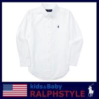 長年愛され続けているラルフローレンの長袖Blakeコットンシャツです。 ホワイト地にワンポイントポニ...