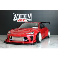 パンドラRC(Pandora RC)/PAB-2199/Toyota 86 ZN6 (BN-Sports公認)クリアボディセット(未塗装)