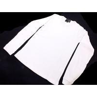 フューチャートゥフューチャー ロングTシャツ/丸首 28431 Lサイズ ホワイト