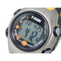 エフラン F-RUN ラップ メモリー 時計 ラップタイム・スプリットタイムを50本メモリーしリコー...