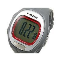 エフラン F-RUN ハートメーター 時計 時計に年齢を入力することで、自動的に適正心拍範囲を設定し...