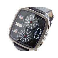 ディーゼル DIESEL トリプルタイム アナデジ 腕時計 DIESEL(ディーゼル)は、盲目的に流...