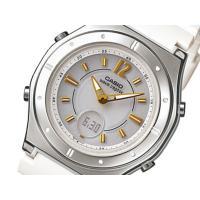 カシオ CASIO WAVE CEPTOR ソーラー 電波 レディース腕時計  サイズ (約)H38...