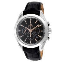 オメガ OMEGA シーマスター アクアテラ クロノ 自動巻き メンズ 腕時計 231.53.44....