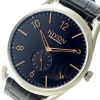 ニクソン NIXON クオーツ メンズ ウォッチ 時計 ブラック  サイズ (約)H46×W46×D...