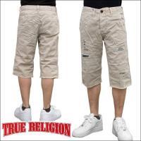 TRUE RELIGION 【 トゥルーレリジョン 】 Travis Phoenix Twill Chino カットオフ ハーフパンツ ( 全2色 )