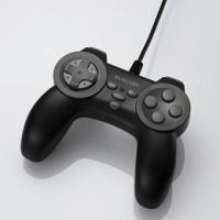 各ボタン毎に設定できる連射機能を装備した10ボタンデジタルゲームパッド。USBインターフェイス対応。...