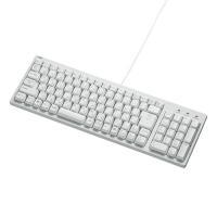 【特長】 幅400以下のコンパクトサイズでありながら、テンキー付のフルキーボード キーピッチはスタン...