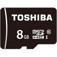 東芝(TOSHIBA) マイクロSDHC UHS I MSDAR40N08G JANコード45621...