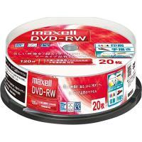 入数:20 著作権保護:CPRM 規格:DVDメディア-RW容量(GB):4 種類:AV用記録面:片...