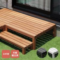 商品名 ウッドデッキ90(0.25坪) 型番 TAN-752(0.25坪) 材質 天然木 塗装又は仕...