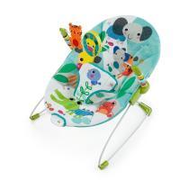 【商品詳細】  包み込むようなシートと心地良い振動で、赤ちゃんもリラックス。くるくる回るおもちゃ付き...