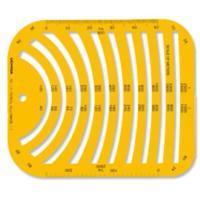 柔軟で割れにくい製図用テンプレートです。 メーカー:E344 サイズ:サイズ:168*140mm 厚...