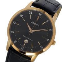 オリエント ORIENT クオーツ メンズ ウォッチ 時計 ブラック 時計職人、吉田庄五郎が1901...