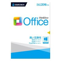 ソースネクスト ThinkFree Office (Microsoft Office 2016対応版...