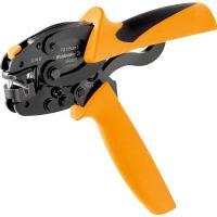 【商品詳細】  ●圧着端子/スリーブ(フェルール)6mmまで用の圧着工具です。●独自のオメガリング機...