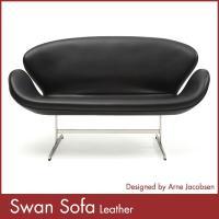 [商品名]アルネ・ヤコブセン スワンソファ(総本革) Arne Jacobsen Swan Sofa...