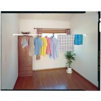 フック付きの大容量フランジ採用!  お部屋の空間を有効に使って、洗濯物干しに  ジャケットなど、重た...