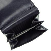 ホワイトハウスコックス WHITE HOUSE COX 三つ折り財布 小銭入 368S1098 BI-FOLD PURSE WALLET BLACK BK