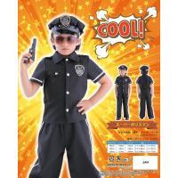 スーパーポリスマン120 コスプレ 衣装 ハロウィン キッズ 代引不可