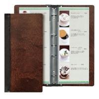 シンビ 木製メニューブック スリム-B・SHO-103 PSV7001  JANコード 499544...