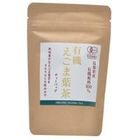 島根県産の有機えごま刃を00%使用したえごま葉茶です。 メーカー:茶三代一 入り数:内容量:16g(...