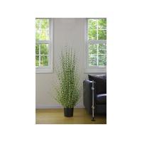 萩原 観葉植物 造花 ゼブラグラス ZEBRA GRASS 140CM Lサイズ (代引き不可)