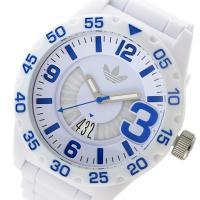 アディダス ADIDAS ニューバーグ NEWBURGH クオーツ メンズ 腕時計 ホワイト スポー...