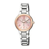 シチズン CITIZEN クロスシー レディース 腕時計 EW3224-53W 国内正規    サイ...