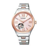 シチズン CITIZEN シチズンコレクション レディース 自動巻き 腕時計 PC1006-50W ...