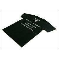 戦国武将Tシャツ 〔織田信長 復刻版〕 Mサイズ 半袖 ブラック(黒) 〔Uネック おもしろ〕