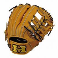 ハイゴールド Hi-Gold OKG-6024 己極 二塁手 遊撃手用 軟式 グラブ ナチュラル 野球 グローブ ベースボール 右投げ 野球用品