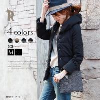 [サイズ(cm)]  M(38) :着丈74 バスト92 裾幅53 肩幅35 袖丈56 袖幅18 L...