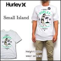 HURLEY(ハーレー)より、USA企画のメンズ Tシャツ SMALL ISLAND TEE Tシャ...