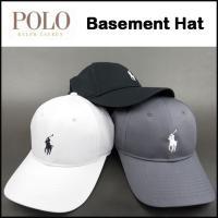 ラルフローレン メンズ 帽子 キャップ POLO BLACK BASEMENT HAT