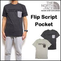THE NORTH FACE(ノースフェイス メンズ)の USAモデル!Tシャツ FLIP SCRI...