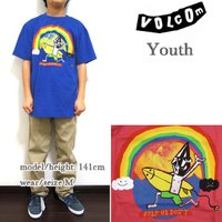 VOLCOM BOYS(ボルコム キッズ ボーイズ)より、Tシャツ YOUTH SURF OR DO...