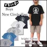 VOLCOM BOYS(ボルコム キッズ ボーイズ)より、Tシャツ YOUTH NEW CIRCLE...