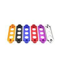 バッテリーステー Sサイズ 全長172mm ピッチ144mm アルマイト ドレスアップ エンジンルーム 金属 車 汎用