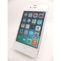 中古 【ソフトバンクSIMロック】 iPhone4 16GB ホワイト MC604J/A