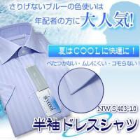 半袖ドレスシャツ NWS403-10 S