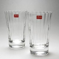 バカラ BACCARAT グラス MILLE NUITS 2105761 HIGHBALLx2  ブ...