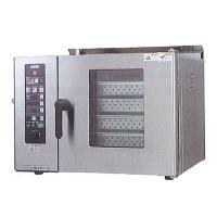 新品:タニコー 電気式 卓上スチームコンベクションオーブン 幅750×奥行600×高さ540(mm) 棚4段 TSCO-4EBN3|recyclemart